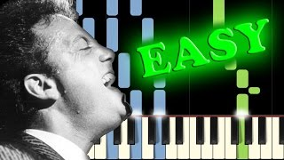 Video BILLY JOEL - PIANO MAN - Easy Piano Tutorial download MP3, 3GP, MP4, WEBM, AVI, FLV Juli 2018