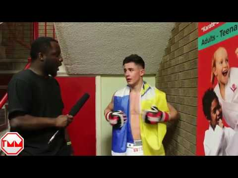 Post fight interview with Louis Lee Scott at FightStar Championship 10
