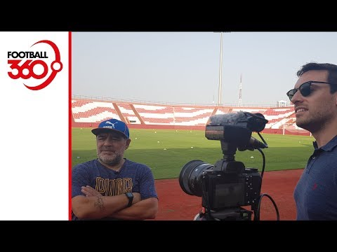 Diego Maradona on his future with Fujairah