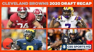The Browns draft an IF CLASS with the POTENTIAL to be GREAT | 2020 NFL Draft