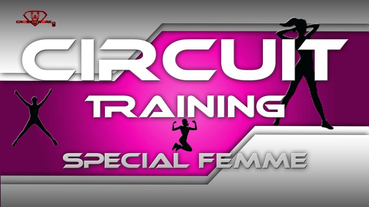 circuit training femme d butant youtube. Black Bedroom Furniture Sets. Home Design Ideas