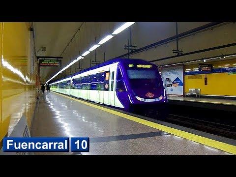 Metro de Madrid : Fuencarral L10 ( Serie 7000 )