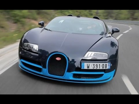 2012 Bugatti Veyron 16 4 Grand Sport Vitesse Bugatti In Action