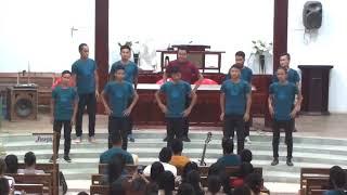 JOSEPH GROUP{10 Men Action Song} BYF, EBCC Bungmual 2018