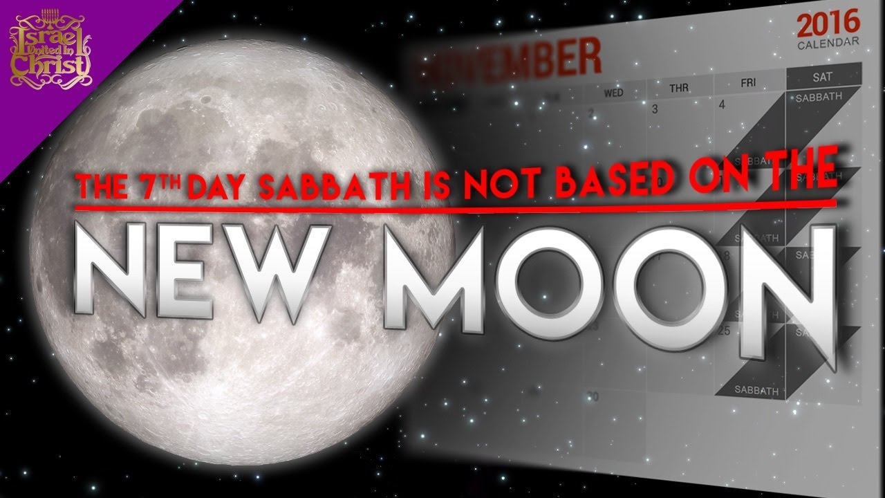 The Israelites: The 7th Day Sabbath Is NOT Based On The New Moon