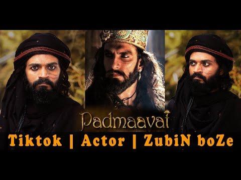 Alauddin Khilji | Hindi Film | Padmaavat | Ranveer Singh | Dialogues | Tiktok | Actor | ZubiN boZe