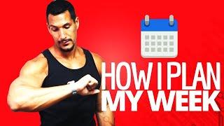 How I Plan My Week (KanbanFlow)