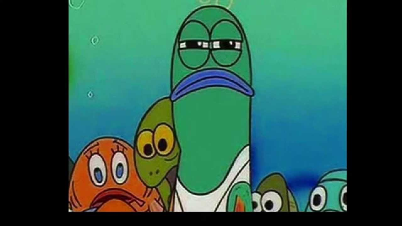 spongebob lifeguard Gallery |Spongebob Serious Fish Meme