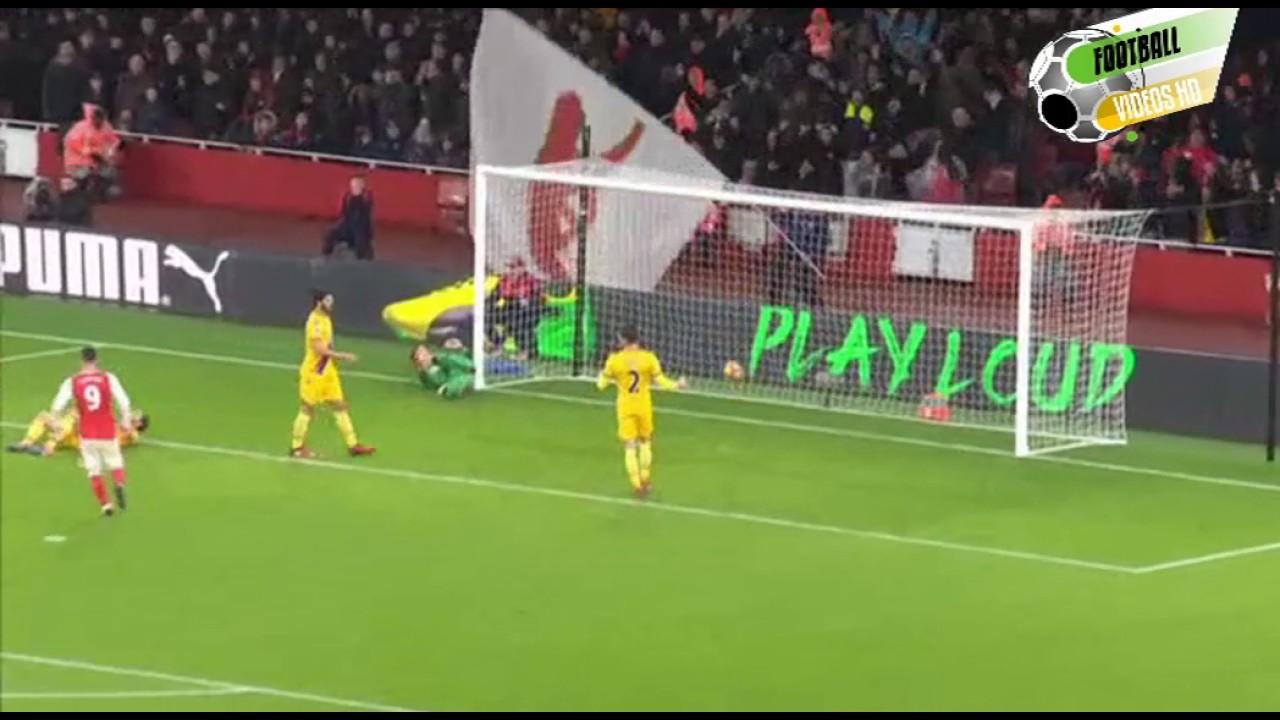 Download Olivier Giroud scorpion goal vs Crystal Palace HD 2017