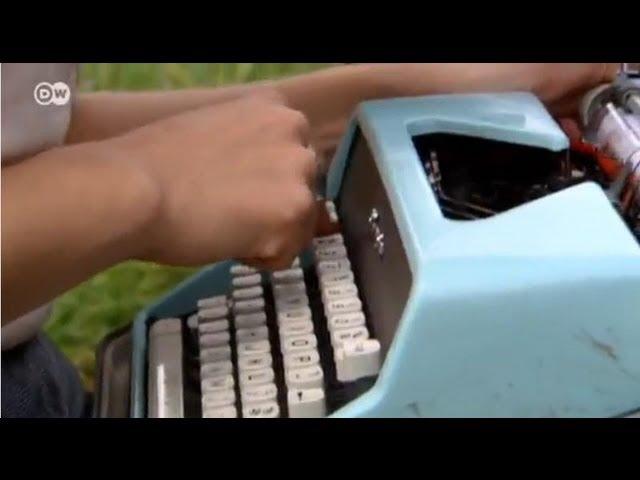 الآلة الكاتبة كمصدر للإبداع يوروماكس Youtube