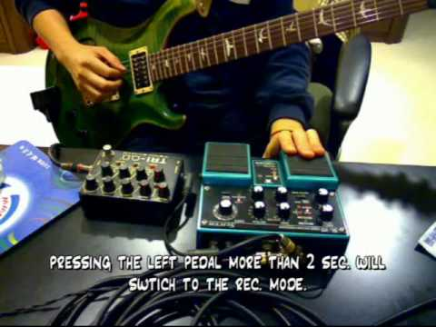 BOSS SL-20 Audio Pattern Processor / Slicer in Play Mode