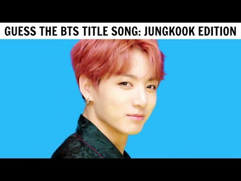 GUESS THE BTS TITLE SONG IN 2 SECONDS | JUNGKOOK EDITION
