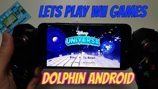 Disney Universe Android Gameplay Wii Games On Smartphones Dolphin Gc/wii Emulator Test