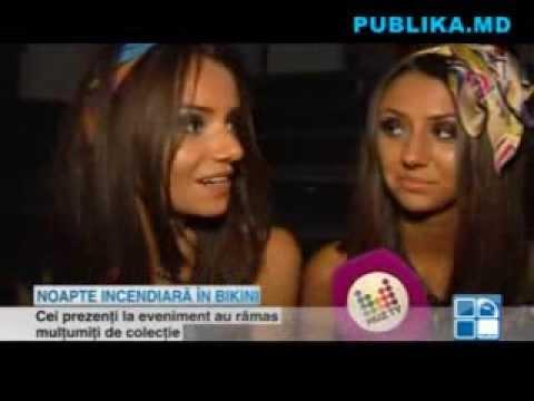 Noapte fierbinte într-un club din Chişinău