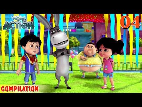 Vir : The Robot Boy   Vir Action collection - 4   Action series   WowKidz Action