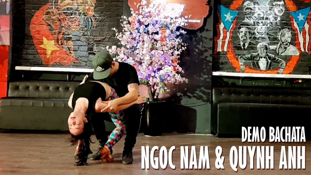 Hector Acosta - Antes Del Lunes @ Demo Bachata: NGOC NAM & QUYNH ANH