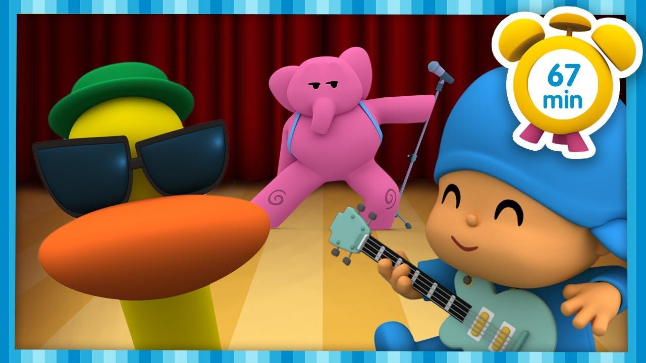🎷🎻🎺 POCOYO ITALIANO - Gruppo Musicale di Estate [67 min] | VIDEO e CARTONI ANIMATI per bambini