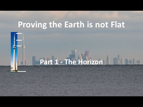 how can you prove the earth is round