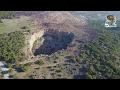 Χάος: Ο «κρατήρας» της Λαυρεωτικής από ψηλά! (Βίντεο)