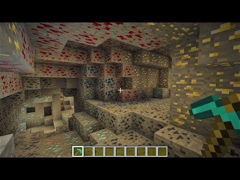 Minecraft | Crear Mundo Lleno De Diamantes Y Minerales