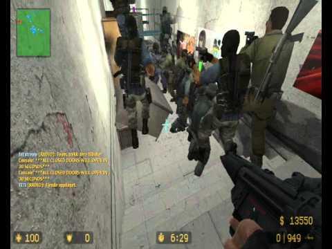 CS:S Zombie Escape Gameplay 2, Isla Nublar