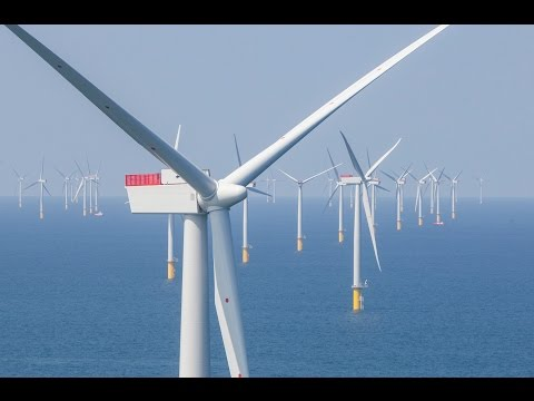 West of Duddon Sands Offshore Windfarm - Construction & Inauguration