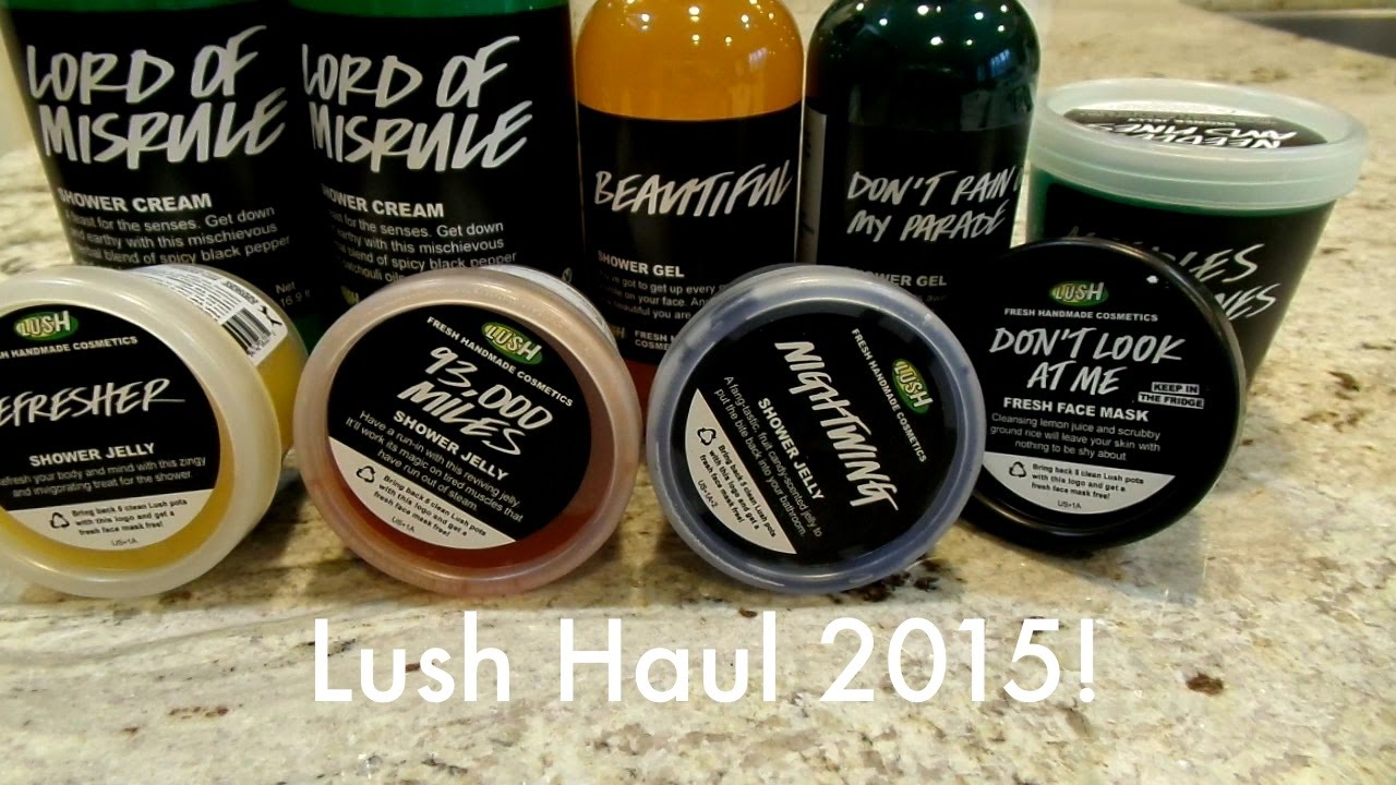 lush cosmetics labels halloween