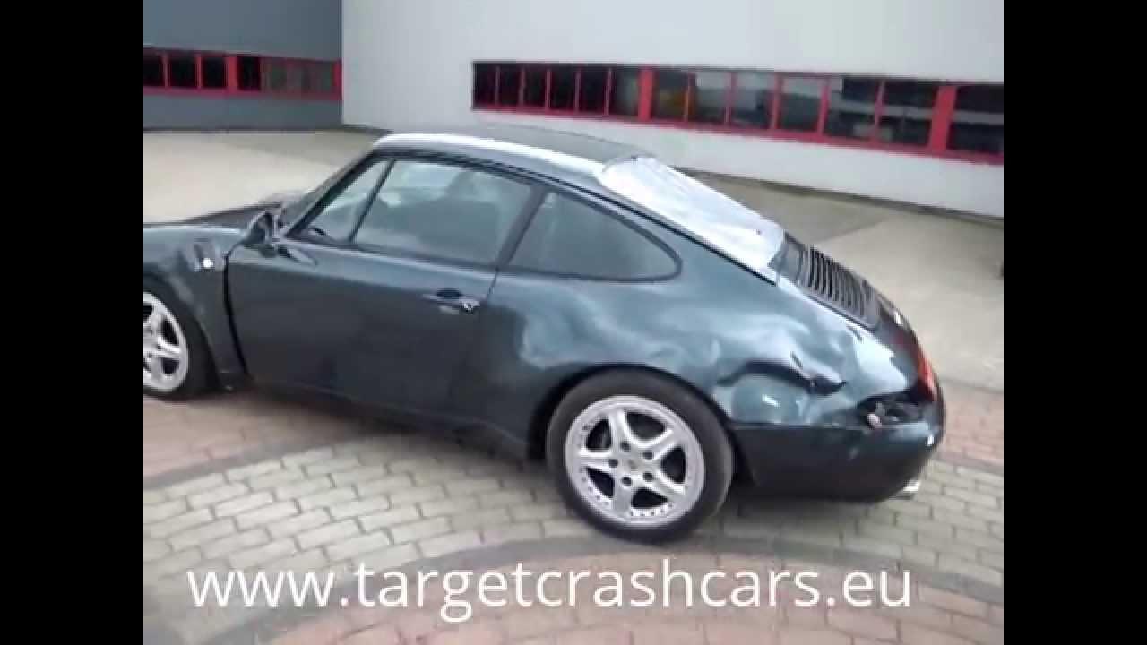 751394 Porsche 911 993 Carrera 36l 272hp Coupe 1994 Green 116401mil Lhd