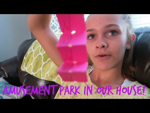 AMUSEMENT PARK IN THE HOUSE????