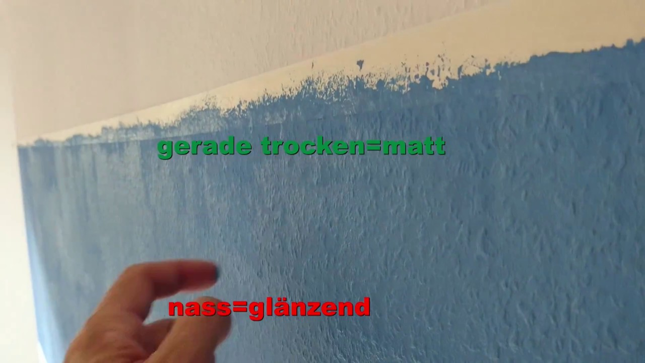 Wann soll man Malerkrepp Klebeband abziehen? nass oder trocken ...