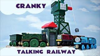 Wooden Railway Interactive Thomas The Tank Engine Talking Cranky The Crane Kids Toy thumbnail