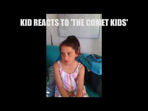 Kid reacts to The Comet Kids movie 3!