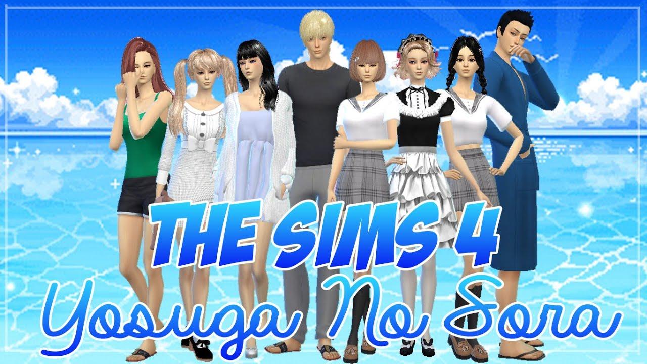 Sims 4 Anime Characters : The sims create a sim anime character yosuga no sora