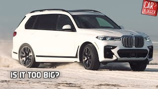 DRIVING the NEW BMW X7 xDrive50i 2019 | IS IT TOO BIG?