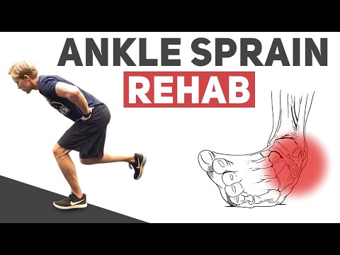 5 Exercises to Rehab a Sprained Ankle