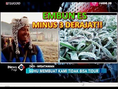 Hari ke-2 Dieng Culture Festival, Suhu Tembus Minus 3 Derajat Celsius - iNews Pagi 04/08