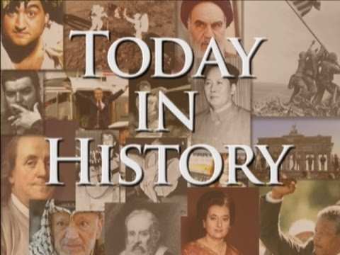 Today in History for October 30th