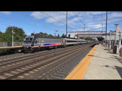 Northeast Corridor Action at Hamilton 9/22/17 Part 1