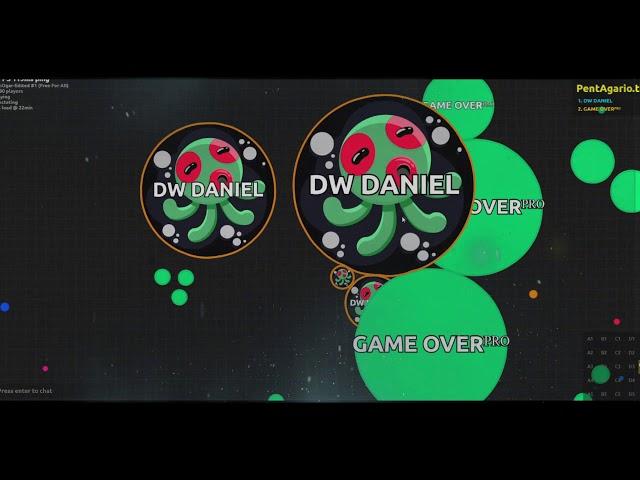 CAMPEONATO AGARIOPVT.COM DANIEL VS GAME OVER pentagario.tk