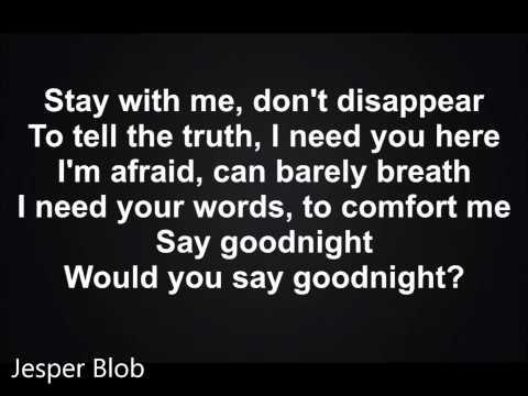 Cher Lloyd - Goodnight - Lyrics