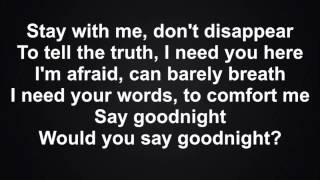 Cher Lloyd - Goodnight - Lyrics