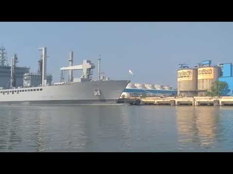 Cruise ship terminal at Cochin Port