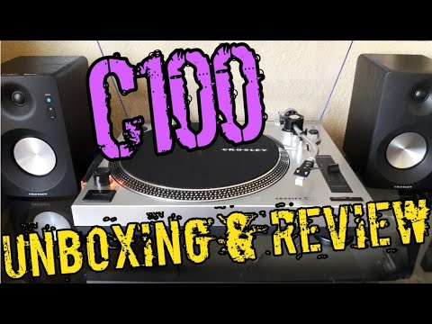 The Crosley C100 Unboxing & Review!