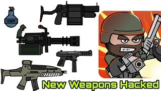 Mini Militia v3.0.136 New Guns hacked latest MOD (Everything is Unlimited) 2018