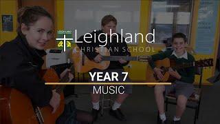 Year 7 - Music