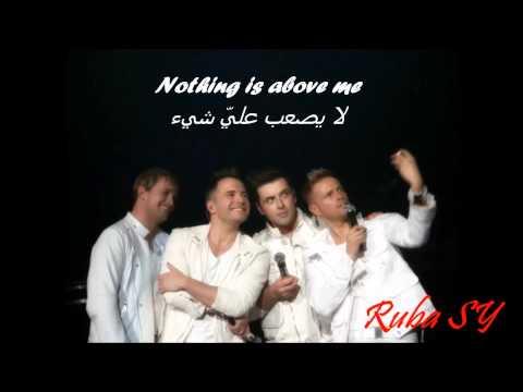 Westlife - When you tell me that you love me + lyrics مترجمة ) عندما تخبرني بأنك تحبني )