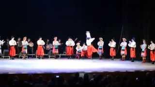 Украинский гопак в исполнении грузинского балета