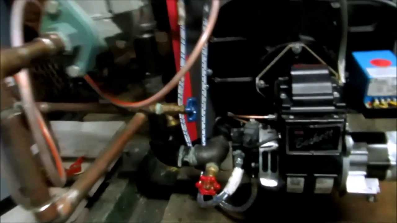 Tiger Loopinstalled On Beckett Afg Burnerover Head Oil Line Youtube Ford 4 6 Engine System Diagram