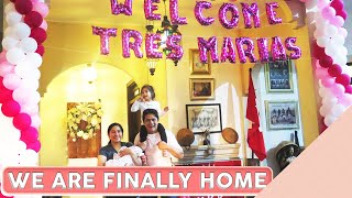Arrival of Tres Marias  [From US to PH]