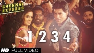 One Two Three Four Chennai Express Full Video Song  Shahrukh Khan, Deepika Padukone